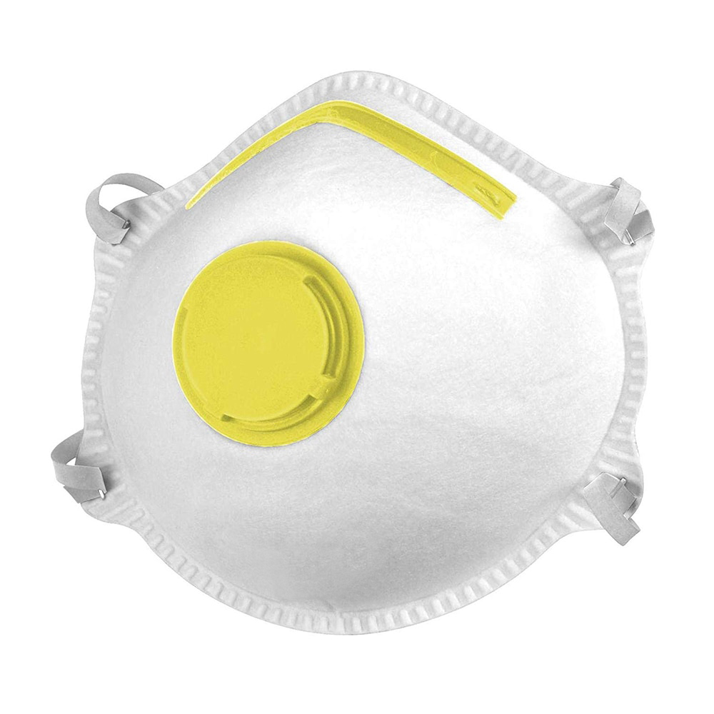 FFP3 Cup Style respirator with valve